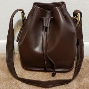 Vintage Coach Lula's Legacy Drawstring Handbag
